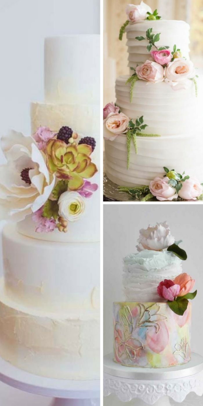 simple elegant chic wedding cakes wedding cake designs