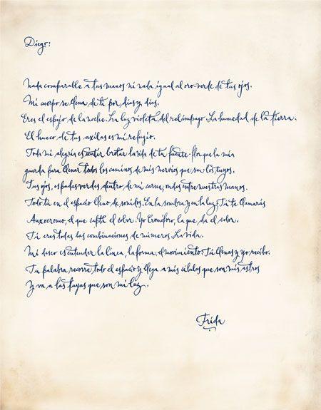 Cartas A Diego Rivera La Otra Cara De Frida Kahlo Belelú Cartas De Frida Kahlo Frida Kahlo Y Diego Frida Kahlo