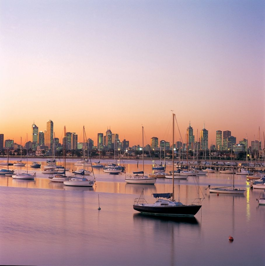 Brisbane And Melbourne: Pin By Dobrina Zheleva-Martins On City Silhouette