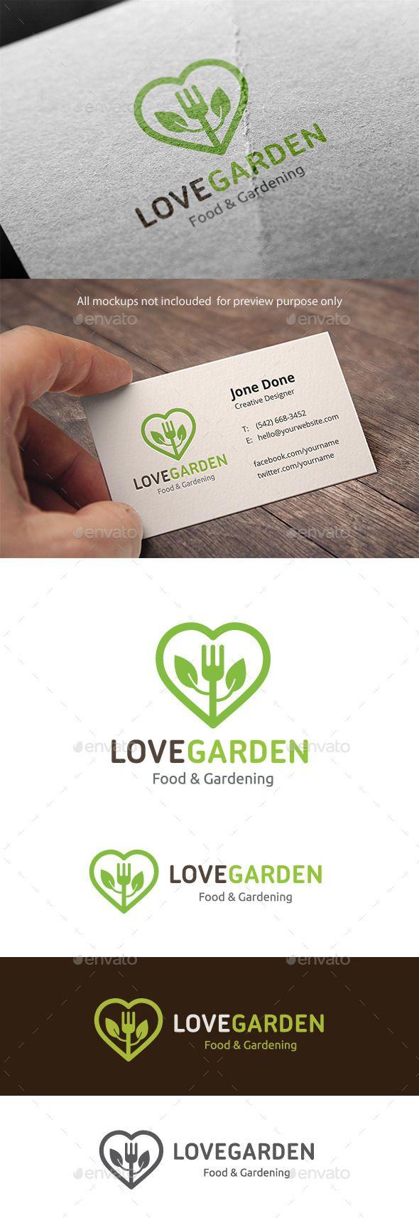 garden care logo #garden #gardencare Logo Template Features100 Scalable Vector Files Everything is editable Everything is resizable Easy to edit color / text Free fon