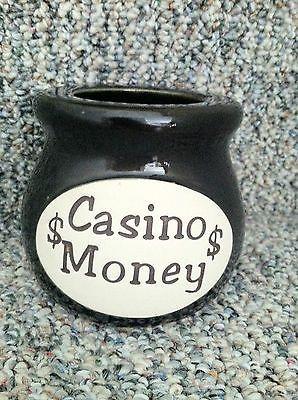 Casino Bank Piggy Bank Jar Money Casino Fees Gift Travel Wish Bucket List