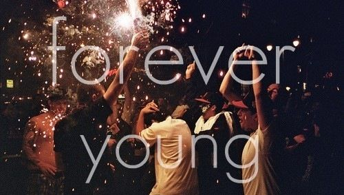 Youth is like diamonds in the sun, and diamonds are forever <3