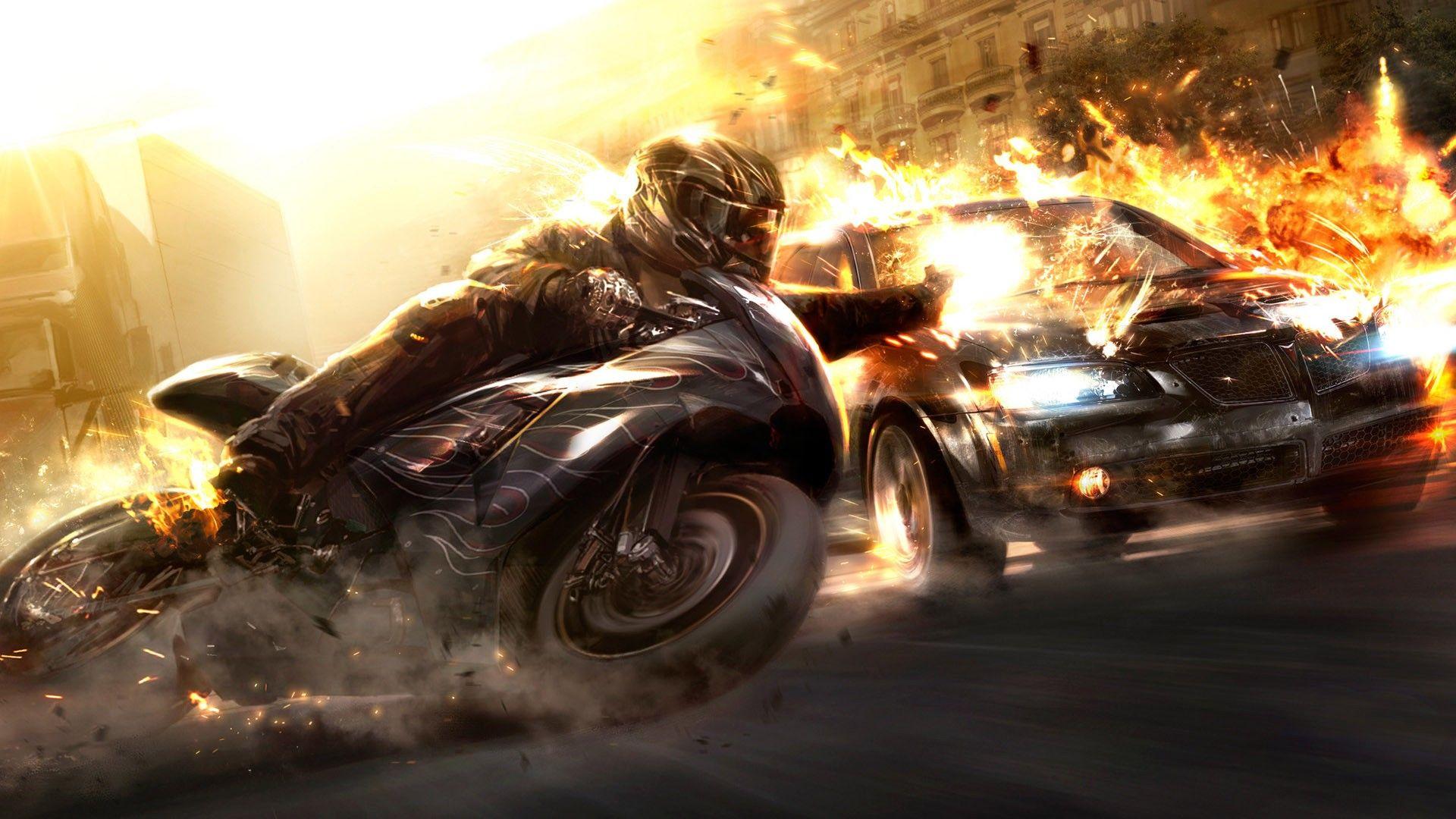 Fond d\u0027écran de moto en haute résolution 12404