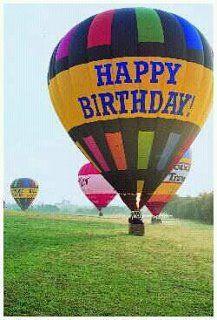 Happy Birthday Hot Air Balloon ride | Hot Air Balloons ...
