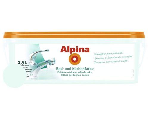 Alpina Badfarbe Und Kuchenfarbe Mint 2 5 L Bei Hornbach Kaufen