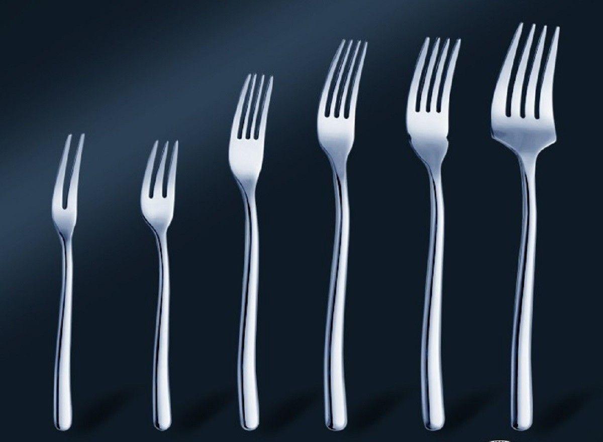أنواع الشوك في المطاعم واستخدامها Tableware Kitchen
