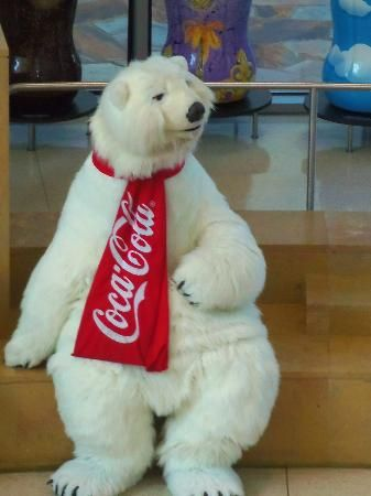 World Of Coke Polar Bear This Guy Just Made Us Smile And
