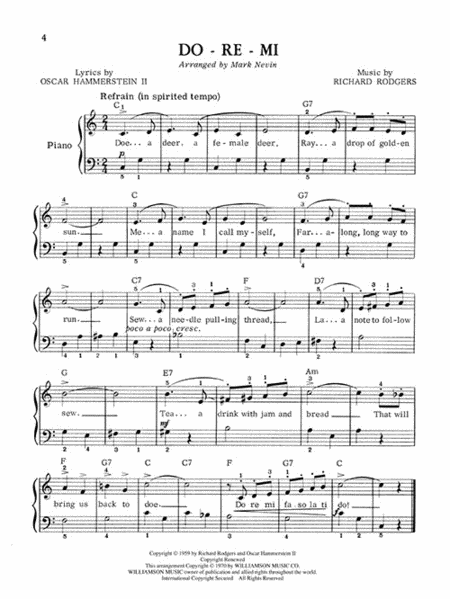 The Sound of Music - Easy Piano | Music Lessons in 2019