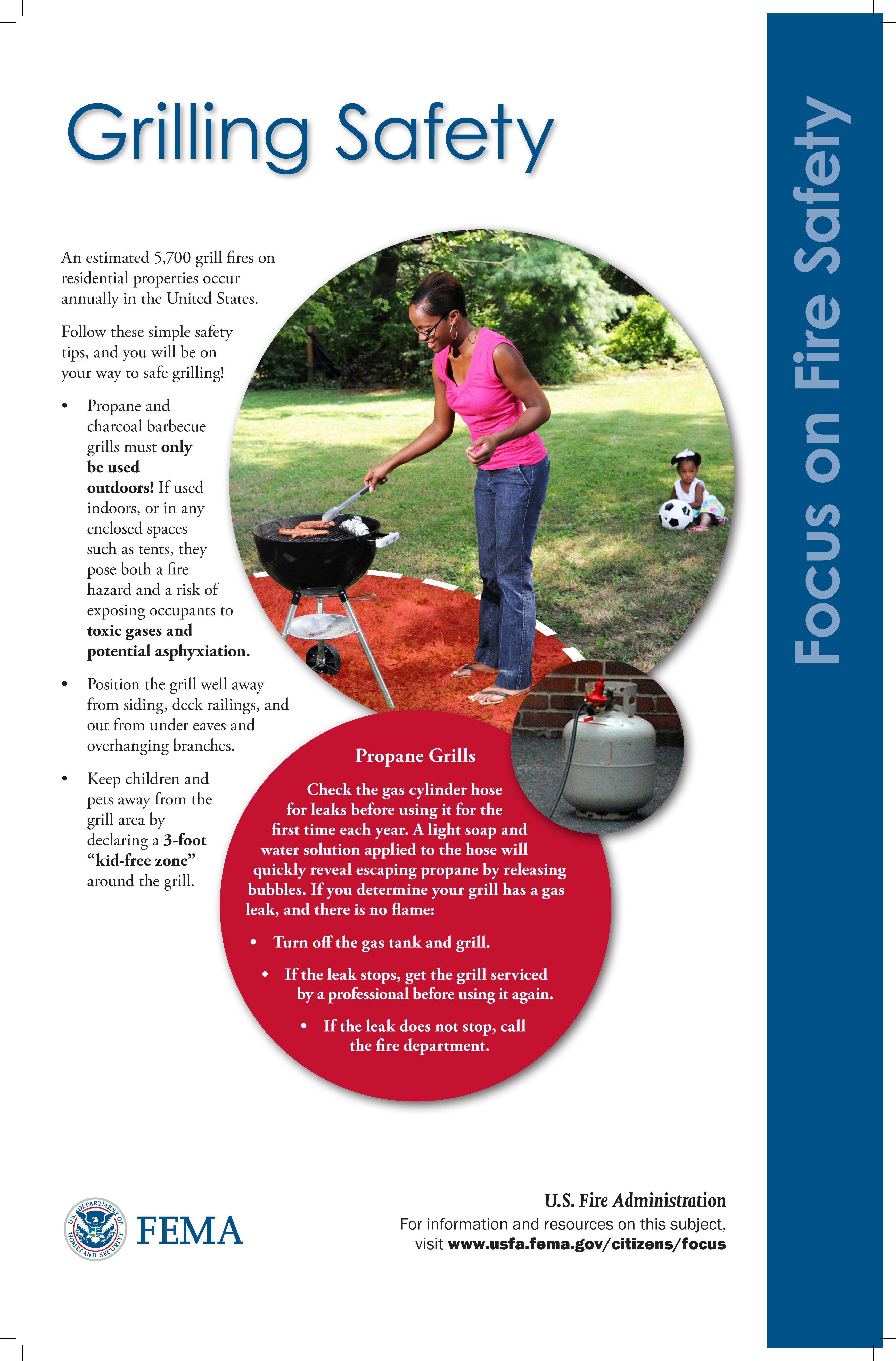 Grilling safety Grilling safety, Safe grilling, Fire