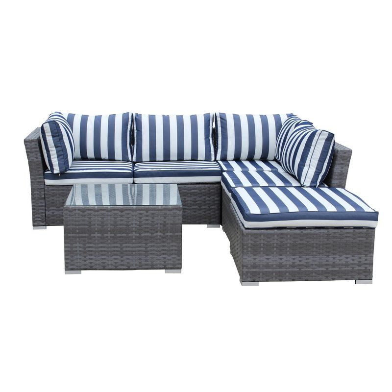 Henderson Sectional with Cushions & Reviews | Joss & Main - Henderson Sectional With Cushions & Reviews Joss & Main Outdoor