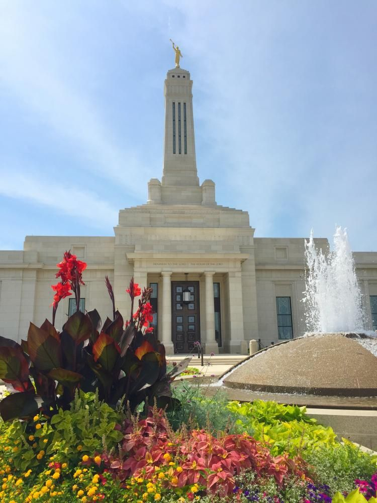 Indianapolis Indiana LDS (Mormon) Temple Construction ...