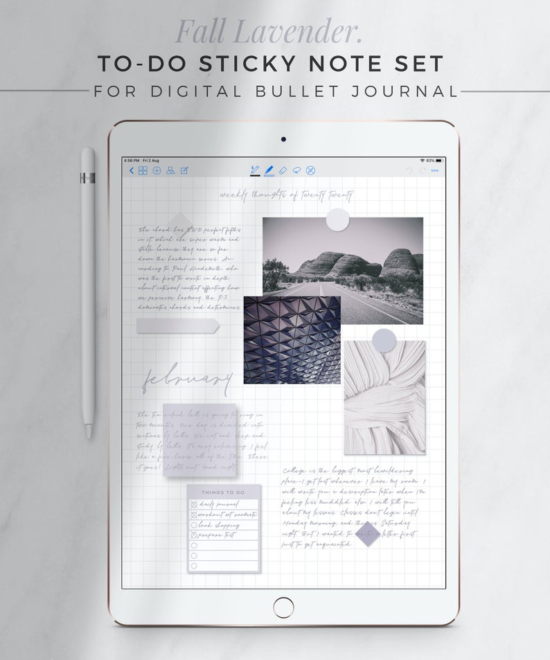 Fall Lavender To Do Sticky Notes Digital Sticky Notes Neutral Ipad Stickers Things To Do Digital Bullet Journal Goodnotes Notability In 2021 Sticky Notes Digital Sticker Bullet Journal On Ipad
