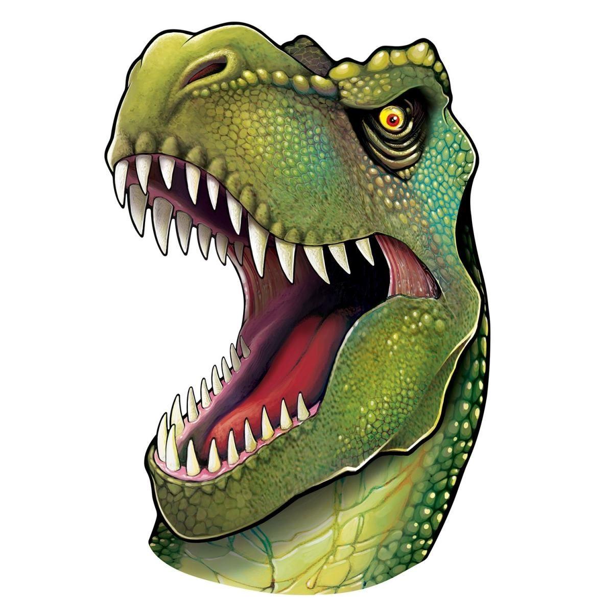 partyextra xlcutout trex passbild 86 cm dinosaurier