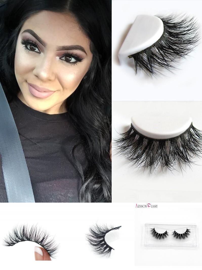 fd512538fa1 [Visit to Buy] Free Shipping D008 1pcs/lot 100% Real Siberian 3D Mink Full  Strip False Eyelash Long Individual Eyelashes Mink Lashes Extension # ...