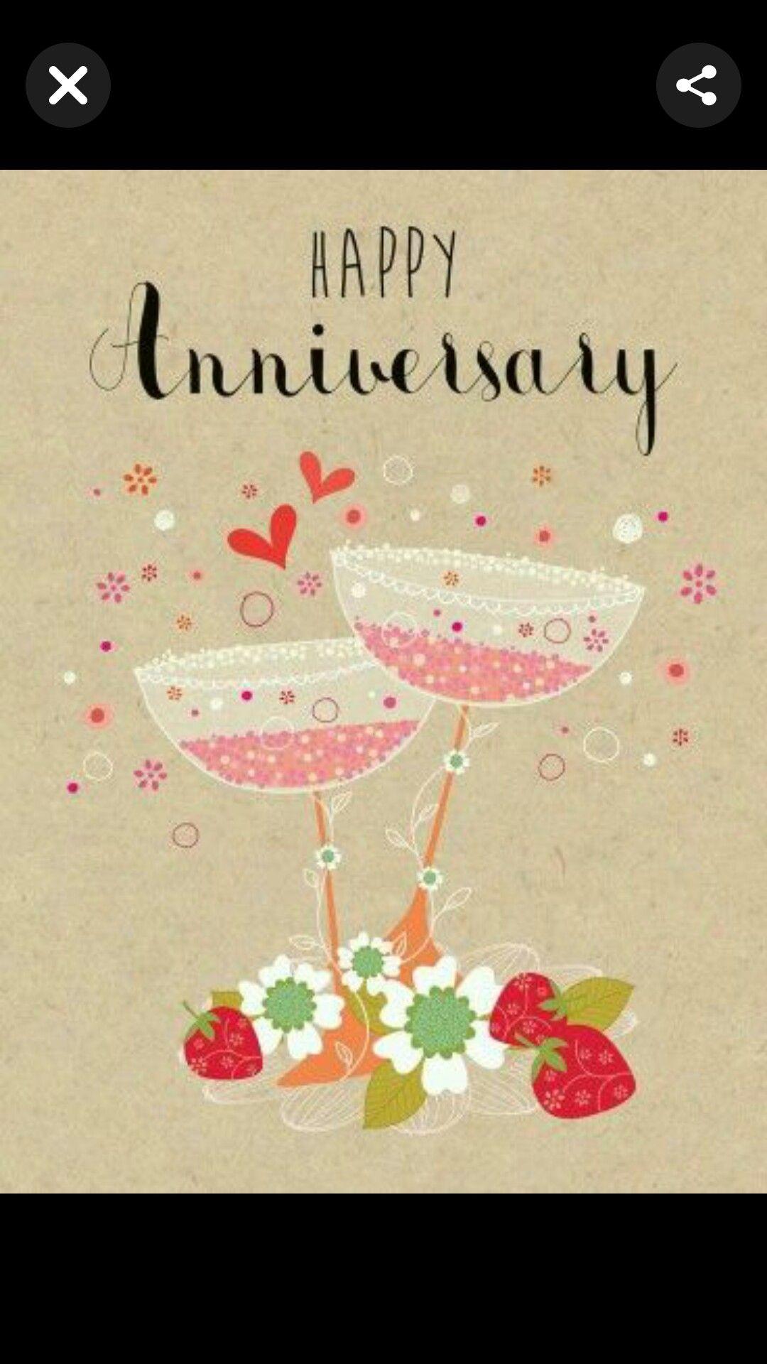 Pin by Glenda Gentry on Happy Anniversary cards ♥️ Happy