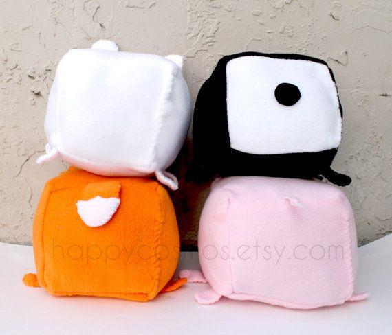 Animal Plush - Kawaii Plushie , Cute Stuffed Animal, Children Softie ...
