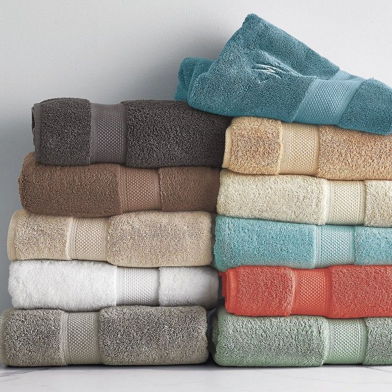 Opulent Bath Towels Loomed Of American Grown Supima Cotton Known
