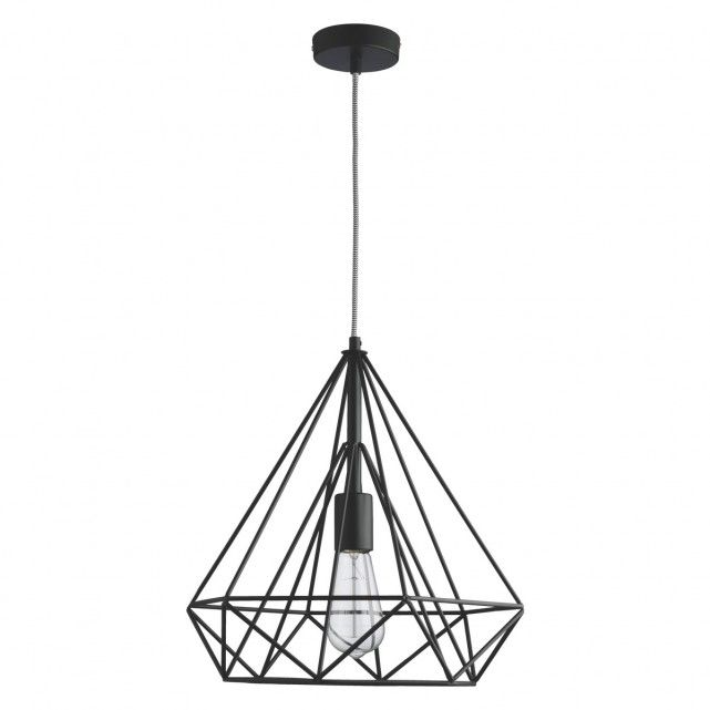 Antwerp black metal ceiling light buy now at habitat uk