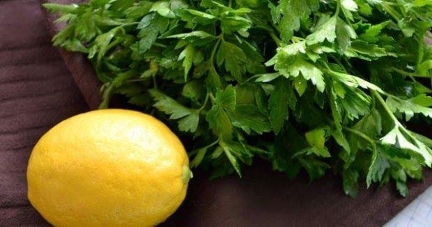 Le citron et le persil une combinaison miraculeuse pour