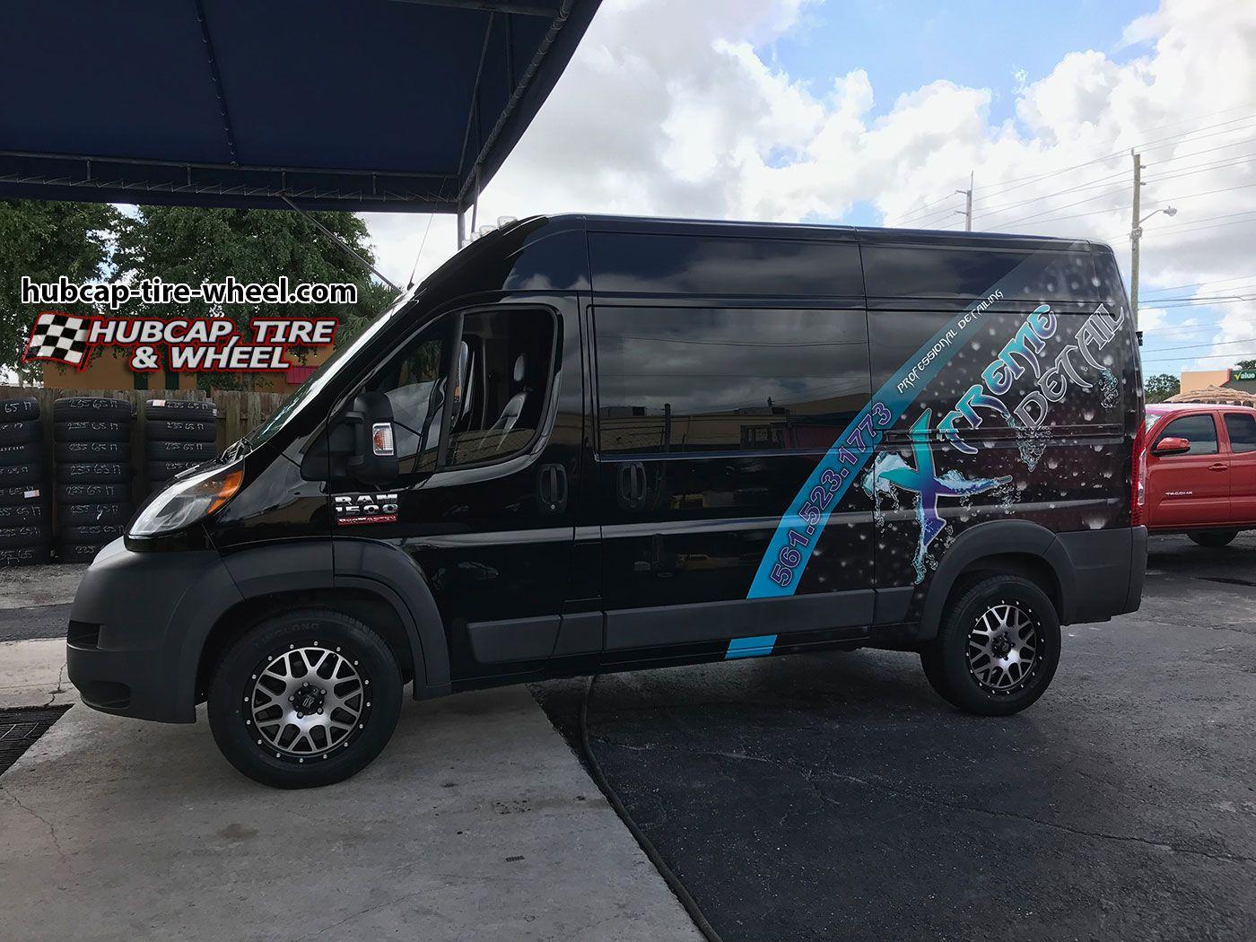 Xd Series Xd820 Grenade Custom Vans Sleeper Van Wheel Rims