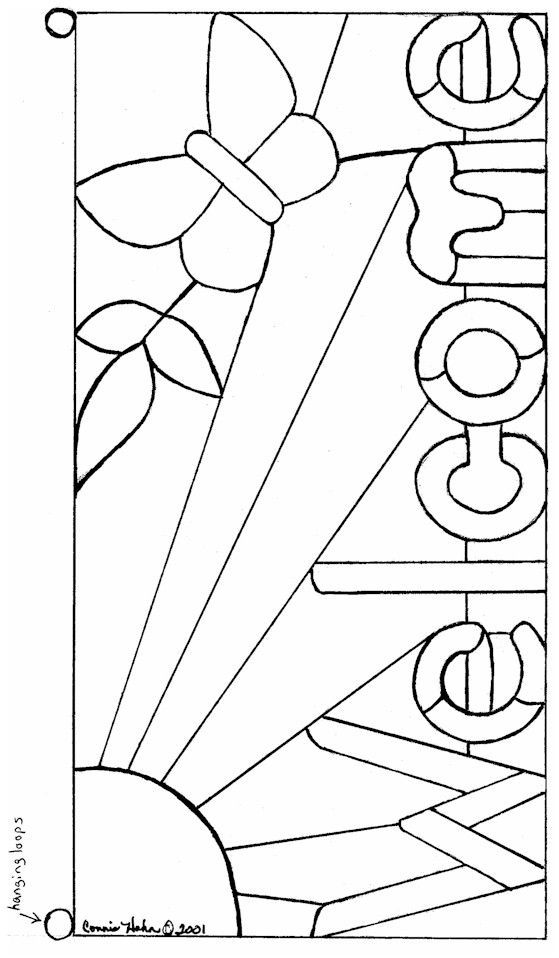 Free Stained Glass Patterns Sea Life Stainedglasspatterns