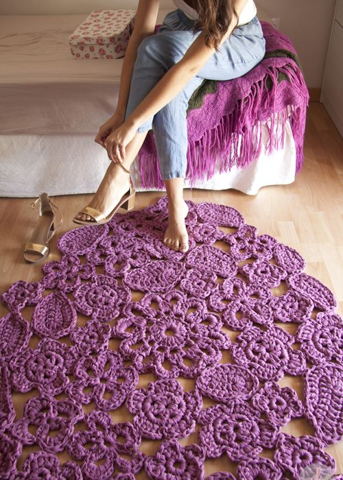 Customize It Teppiche Teppich Häkeln Und Stoffreste