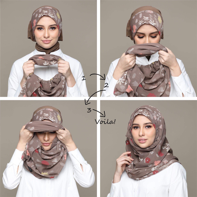 Tutorial Hijab Pashmina Ukuran Pendek Blog Lif Co Id