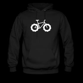 Knarly Fat Bike Men's Hoodie ~ 185