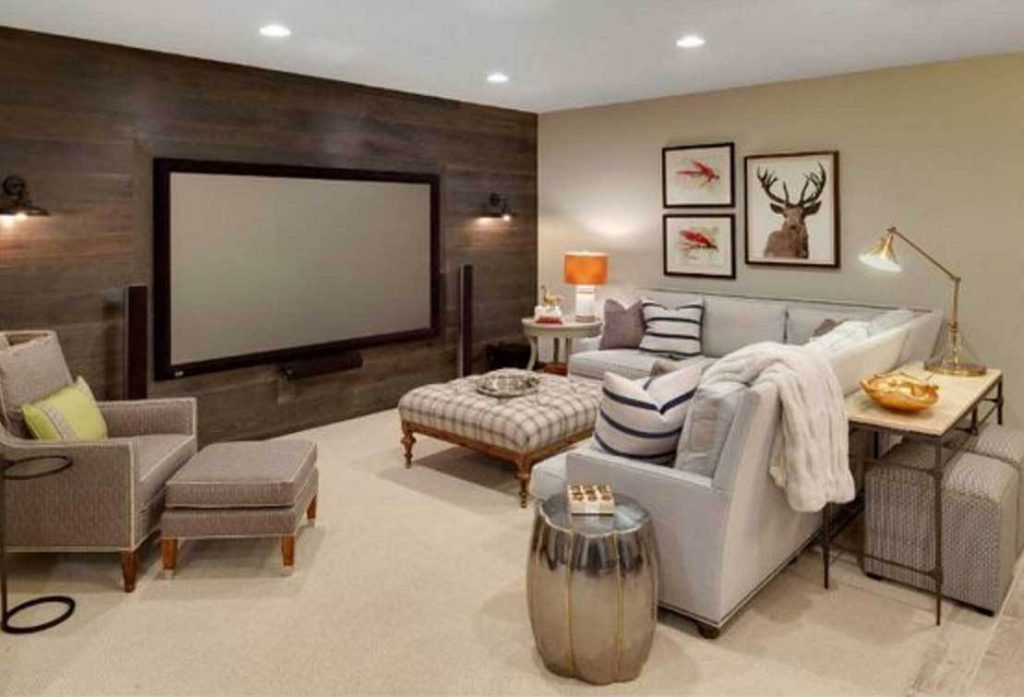 Basement Decorating Ideas For Family, How To Design A Basement Family Room