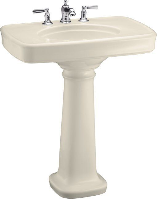Kohler K 2347 8 Small Bathroom Sinks Pedestal Sink Sink