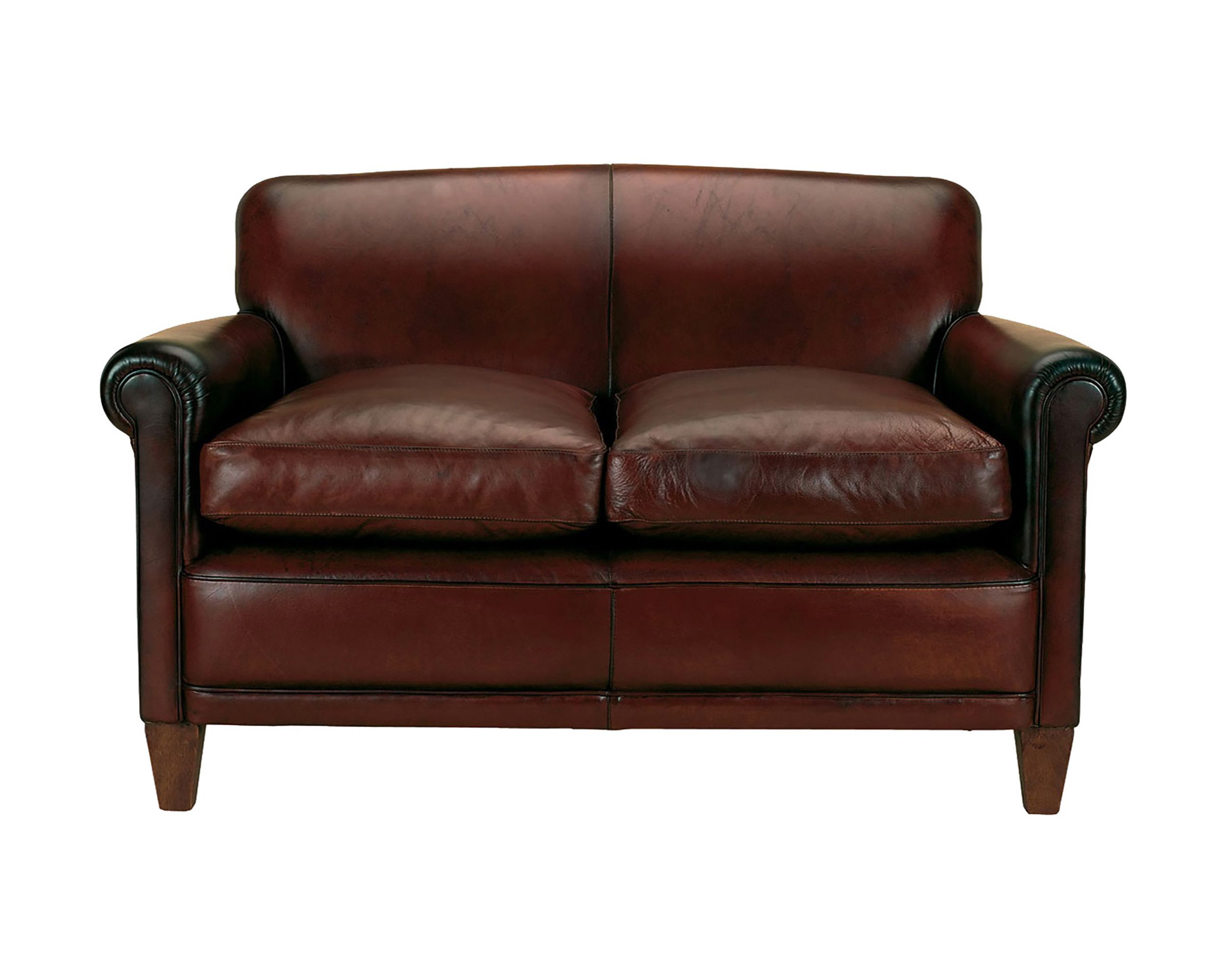 Made To Order Sofas Burlington Leather Large 2 Seater Sofa In Heritage Laura