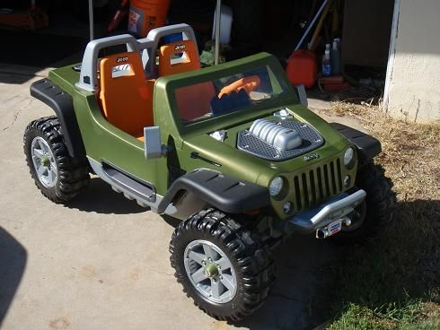 Modified Power Wheels Rc Hurricane Project Power Wheels Jeep