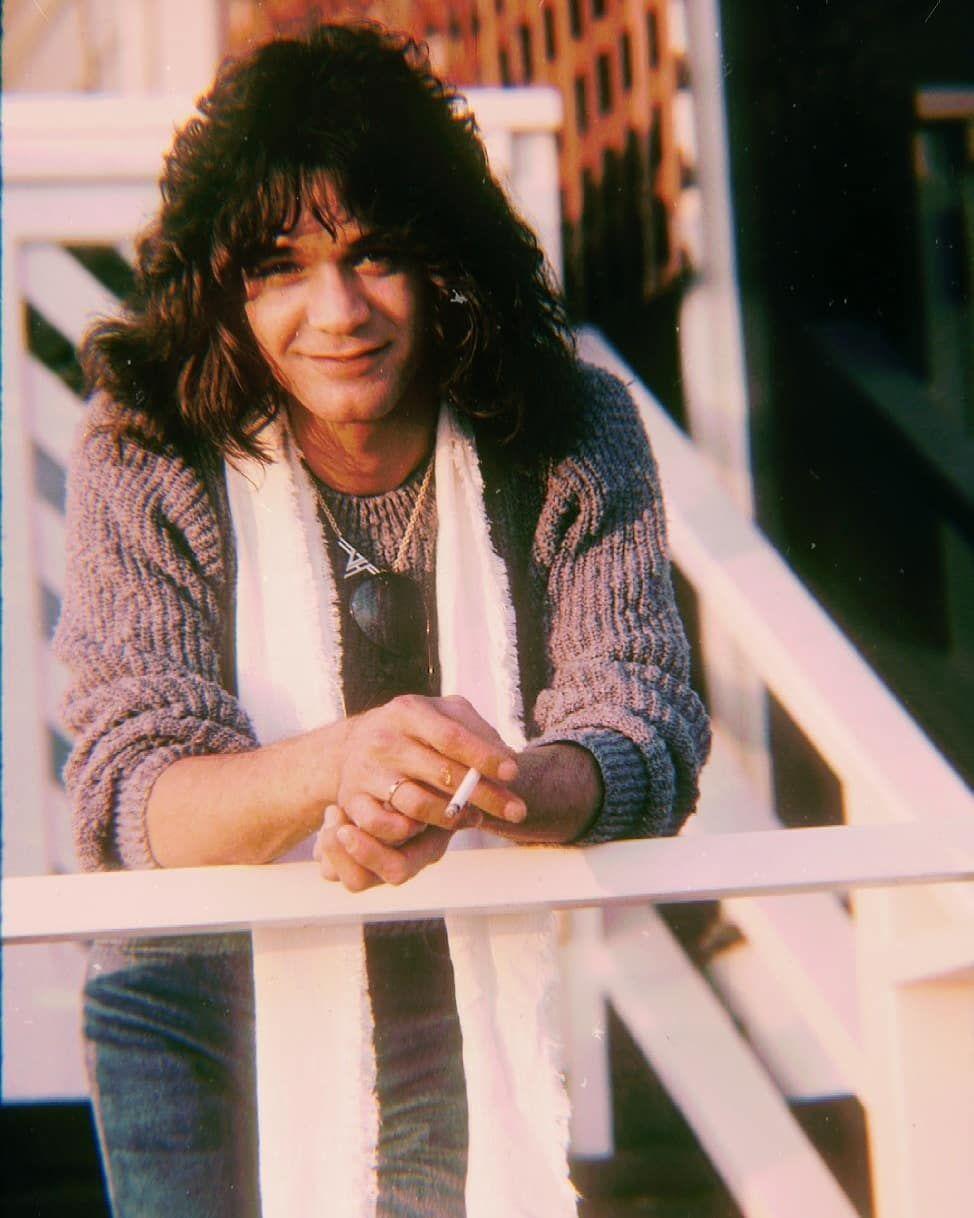 Eddievanhalen Guitarlegend Guitargod Rocknroll Rockstar 80s Vintage Rockgod Vanhalen Hardrock Eddie Van Halen Van Halen Hard Rock