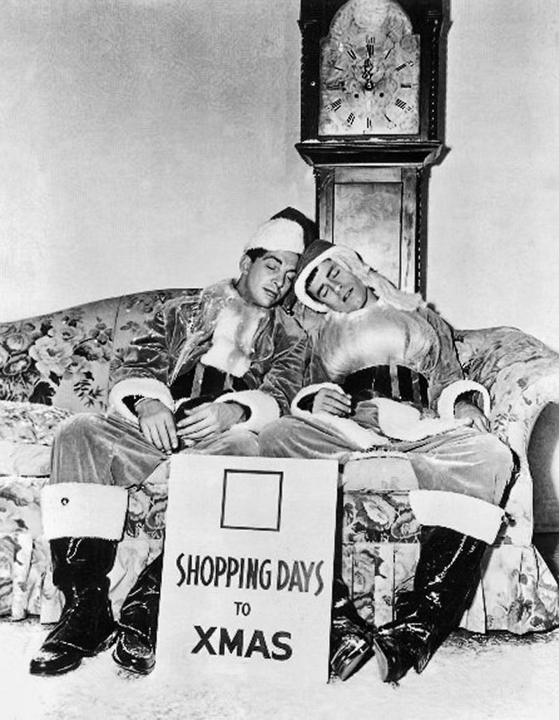Dean Martin and Jerry Lewis for the count down Christmas ...