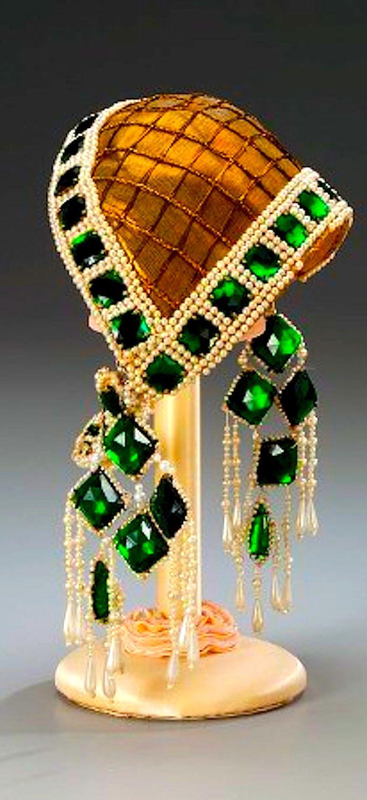 Art Deco Jeweled Headdress - Stunning #FashionArts