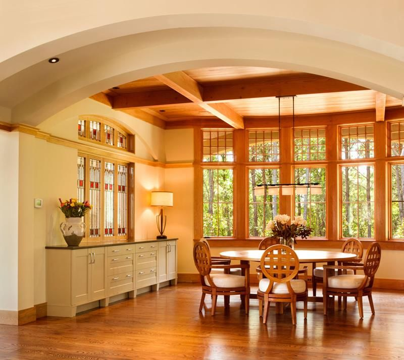 22 Amazing Craftsman Dining Room Designs