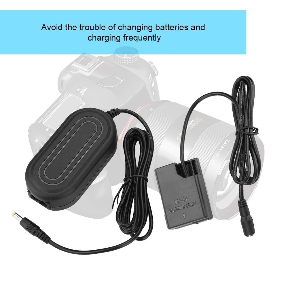 2-Prong AC Power Cord Cable For Nikon Digital Camera Battery Charger AC Adapter