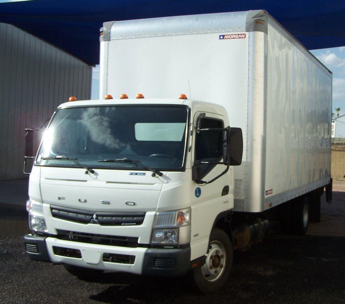 Pin on 2013 Mitsubishi Fuso FE180 Box Truck For Sale In