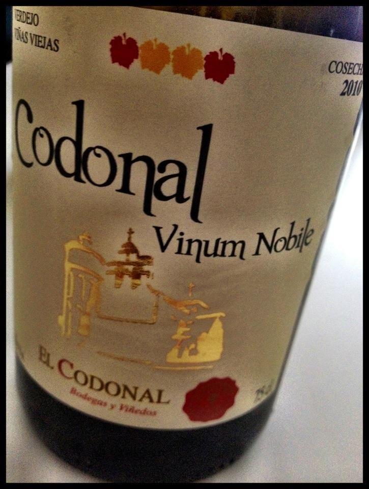 El Alma del Vino.: Bodegas y Viñedos El Codonal Verdejo Viñas Viejas 2010.