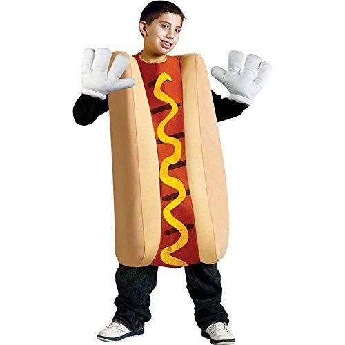 Hot Dog Kids Costume Fun World Halloween Pinterest Children - hot halloween ideas