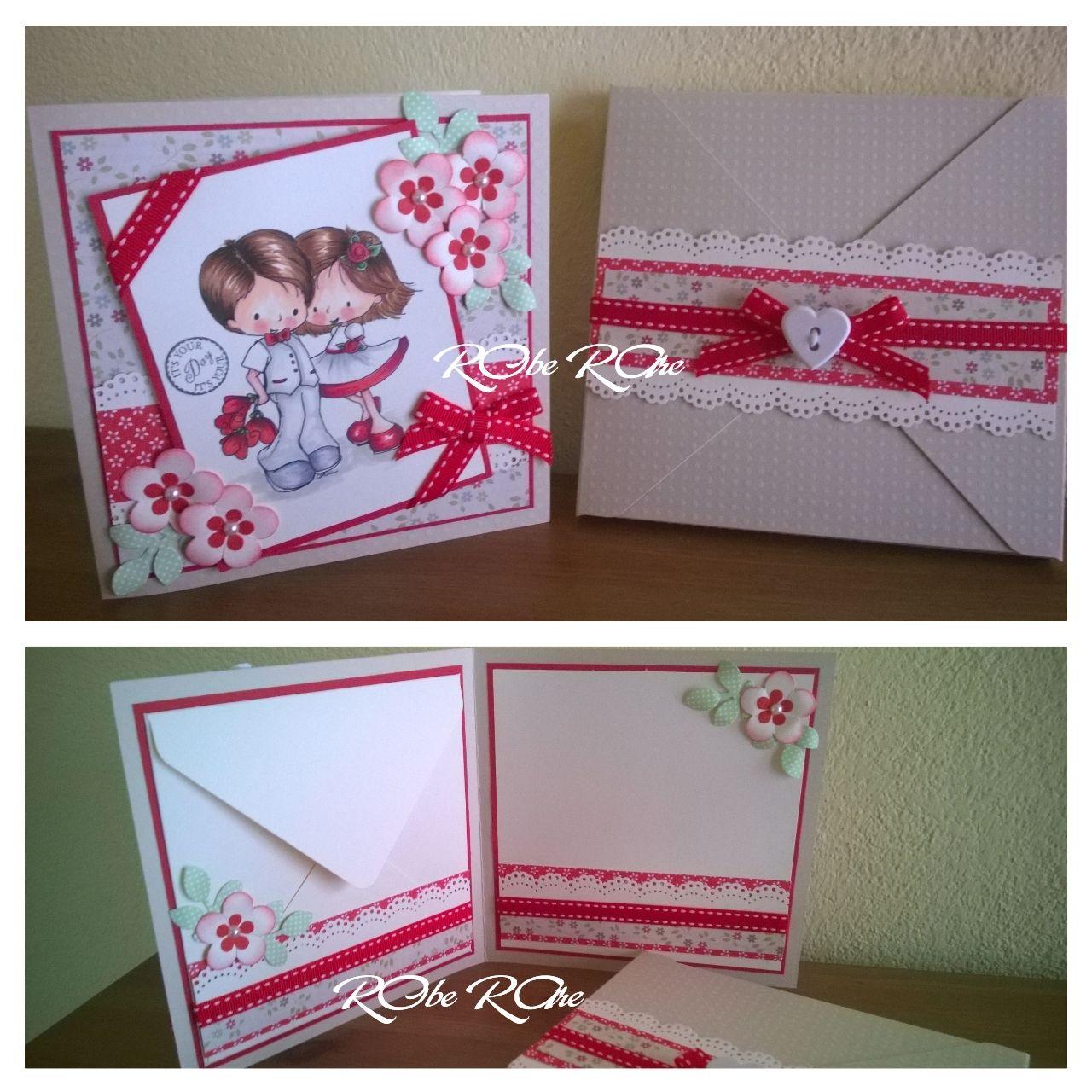 Auguri Matrimonio Busta : Biglietto auguri matrimonio in rosso con busta portasoldi