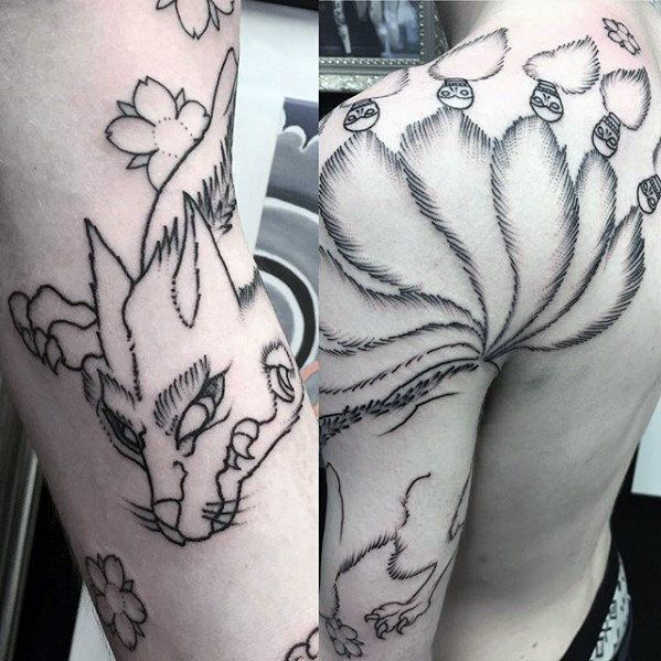 Top 87 Kitsune Tattoo Ideas 2020 Inspiration Guide Tattoo Designs Men Tattoo Designs Tattoos
