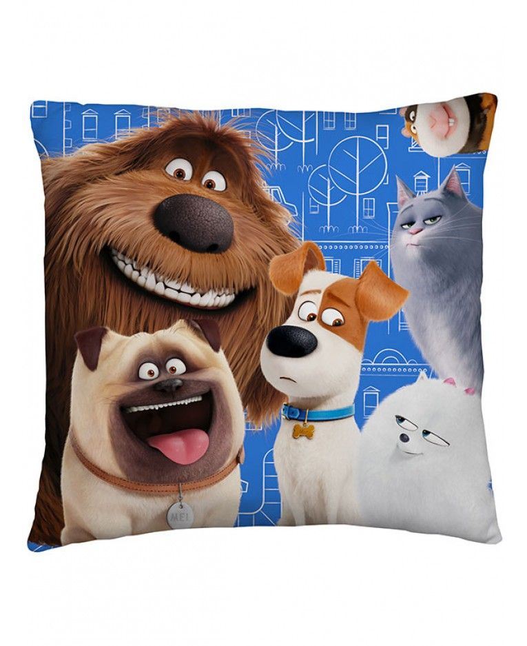 This The Secret Life Of Pets Animals Cushion Has Norman Duke