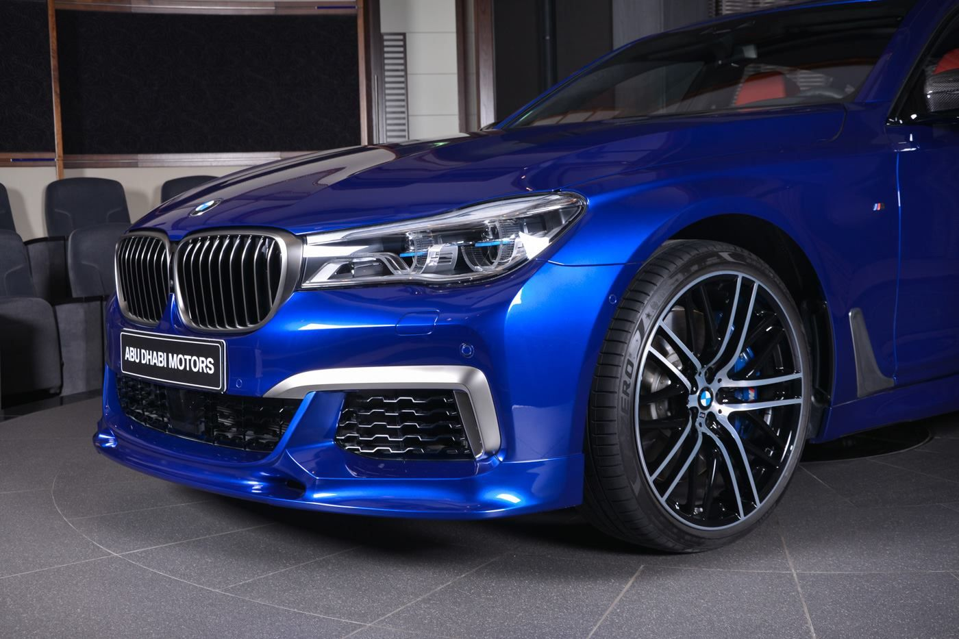 San Marino Blue Bmw M760li Looks Almost Perfect With Images