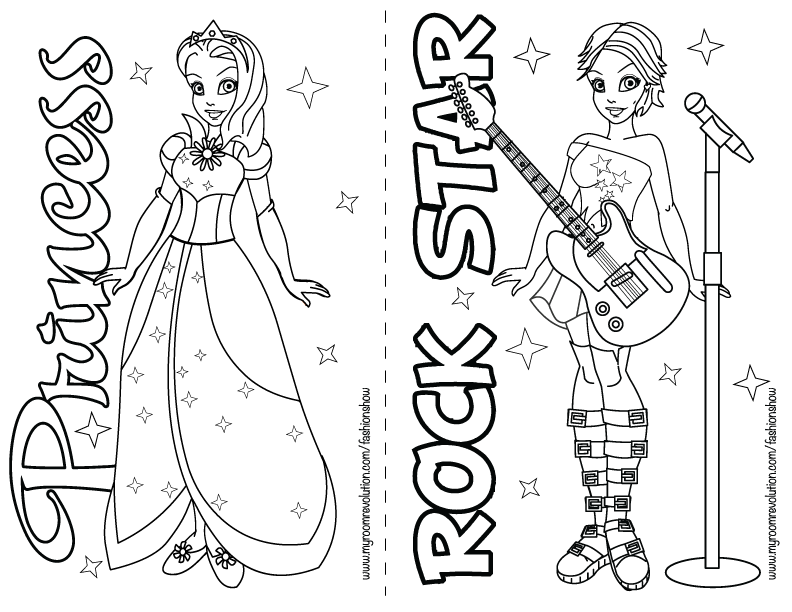 fashion coloring pages fashion skills with your Fashion Show