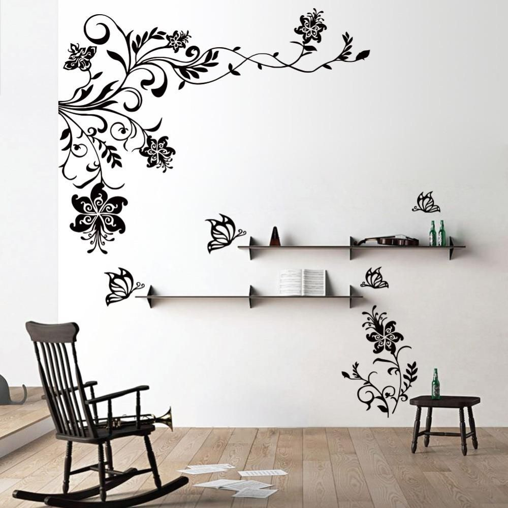 Wall Stickers For Bedrooms Interior Design