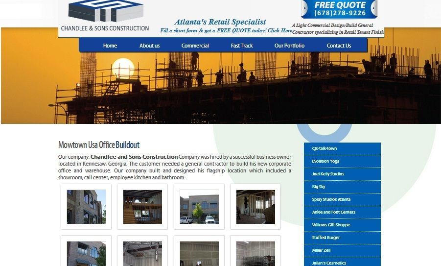 Our Own Standard Contractor S Crews In Alpharetta Are Always Works With Different Plans And Ens Building Design Commercial Remodeling Celebrity Interior Design