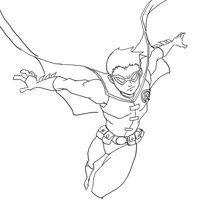 nightwing coloring pages free coloring pages of how to draw