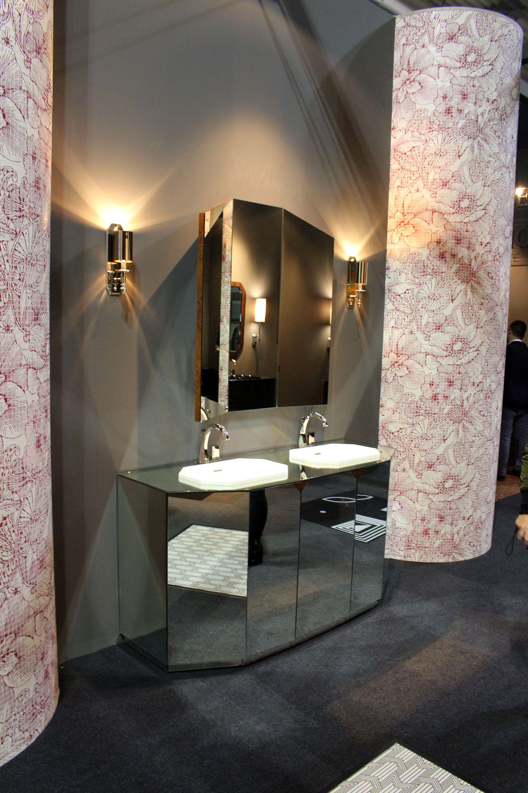 Petracer's luxury bathroom furniture at Salone del Mobile #bathrooms #bathroominspiration #salone2016 #salonedelmobile #bathroomfurniture