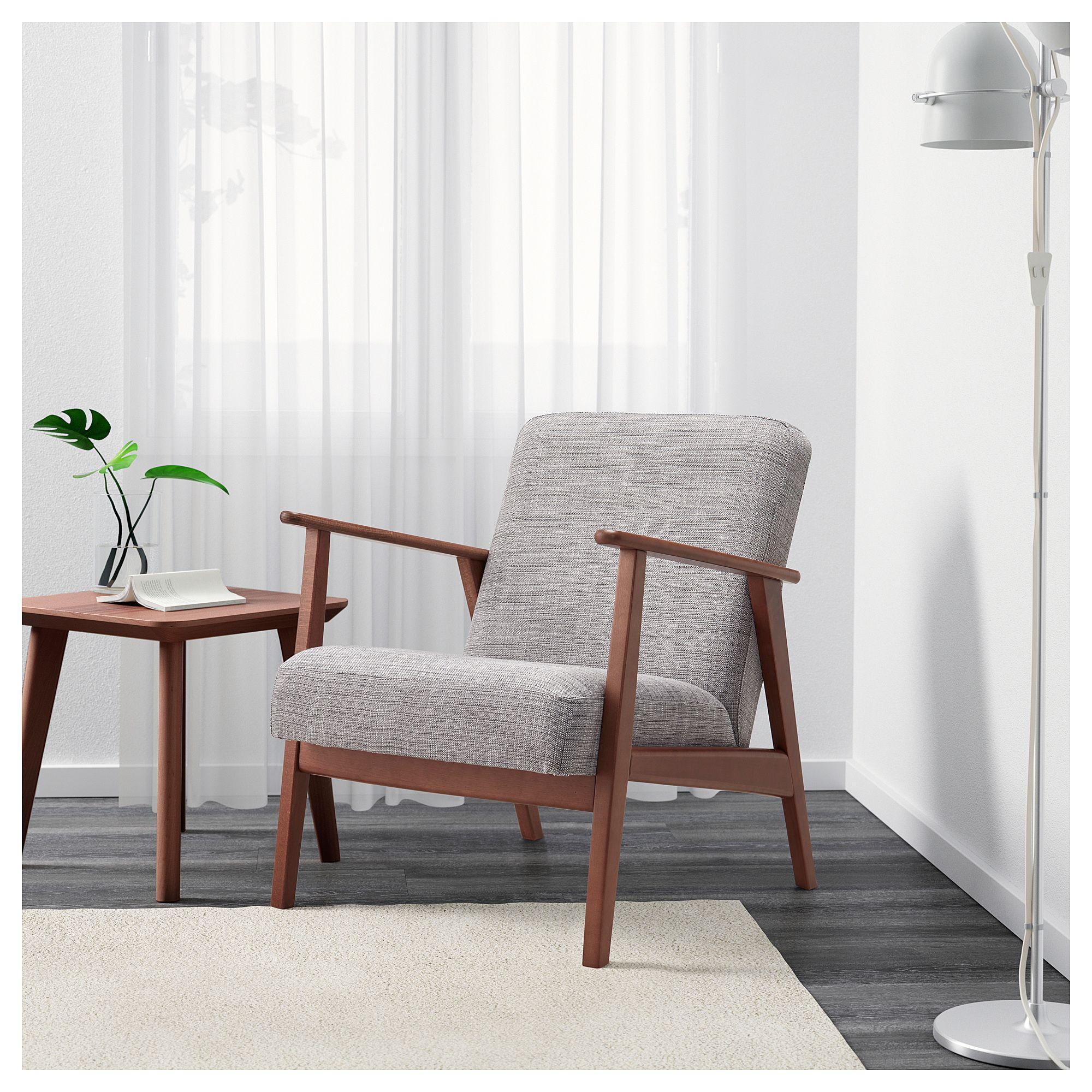 Fauteuil Ekenäset Isunda Gris Chairs Ikea Armchair